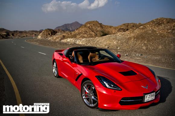 2014 Chevrolet Corvette Stingray Middle East road test