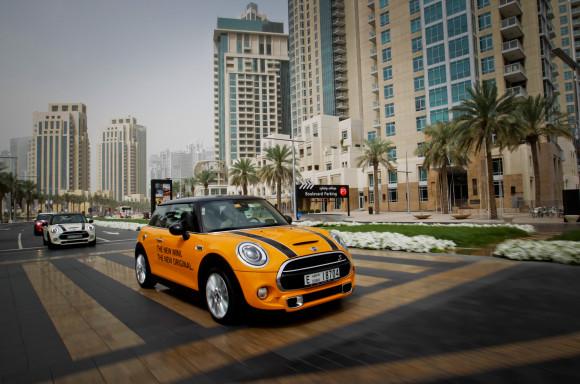 2014 Mini Hatch F56 launch in Dubai