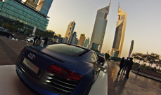 MotorVillage car show in Dubai International Financial Center