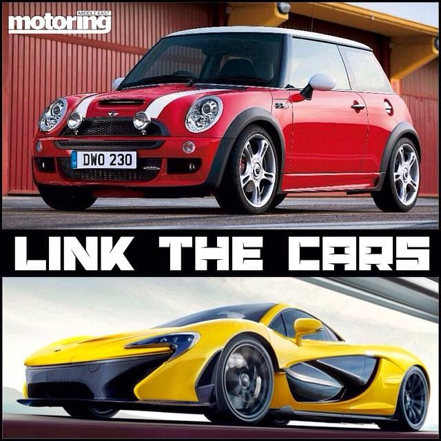 Link the cars   what do these cars have in common?Motoring Middle