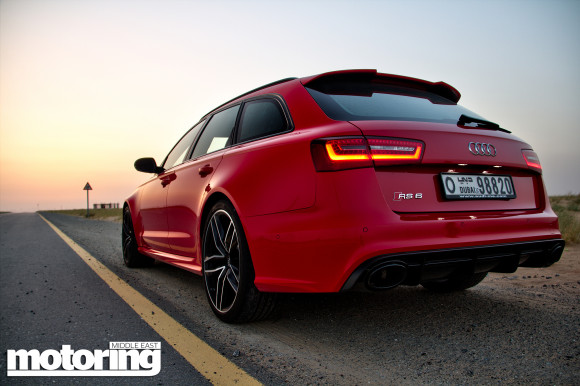 2014 Audi RS6 Avant, fastest family wagon on the planet