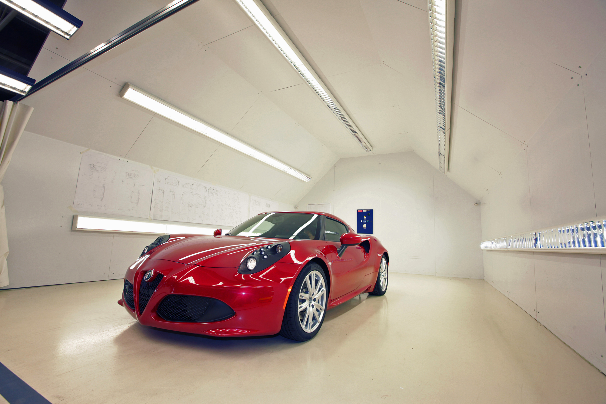 Alfa Romeo 4c Factory Seeing How The Exotic Sports Car Is