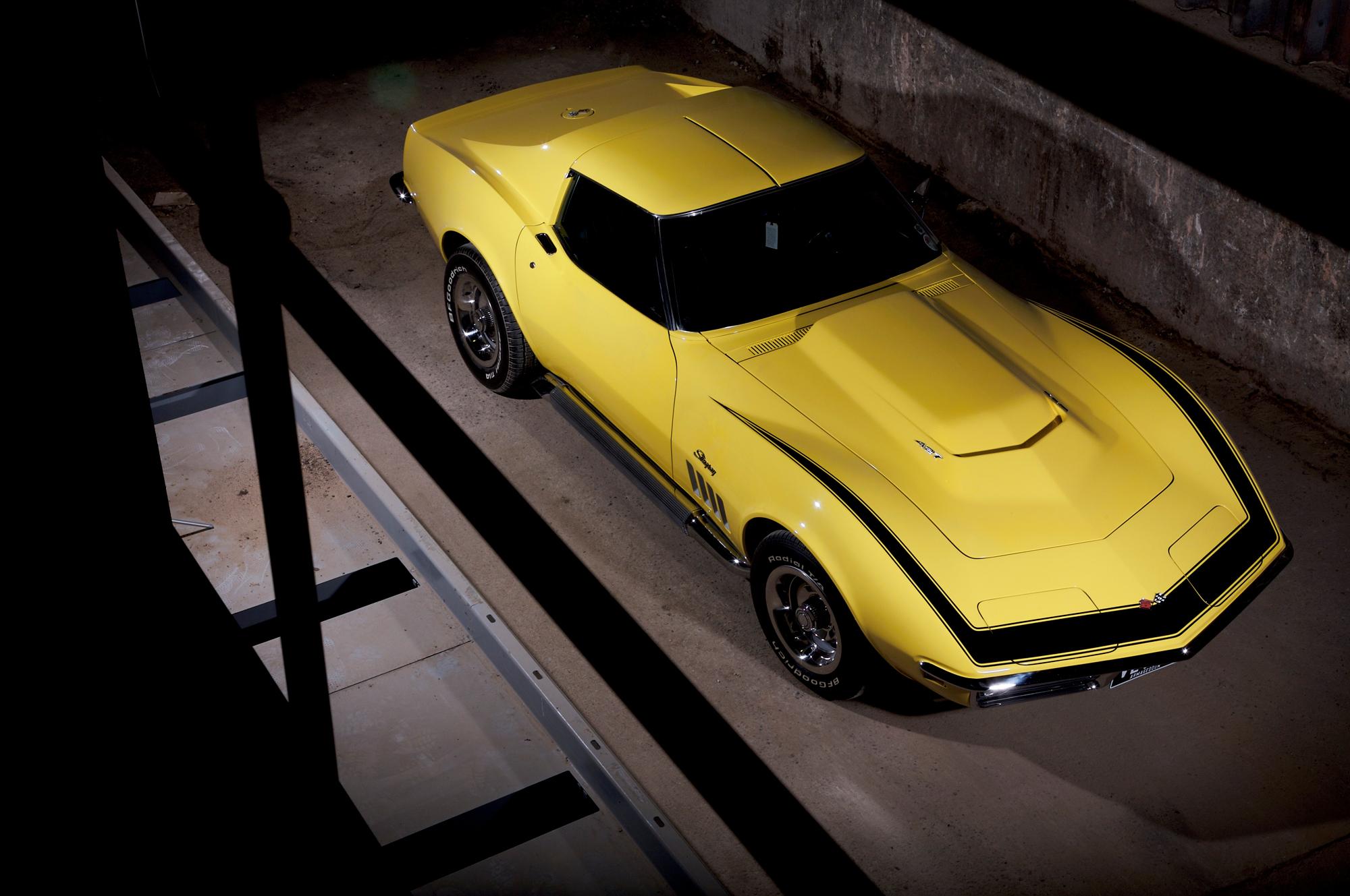 Classic 1969 Chevrolet Corvette Zl1 Reproduction For