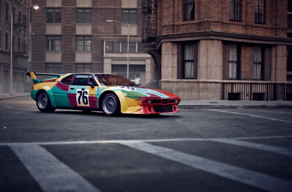 BMW Art Car Book competition