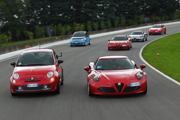 Alfa & Fiat drive day