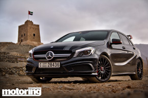 Mercedes A45 AMG review