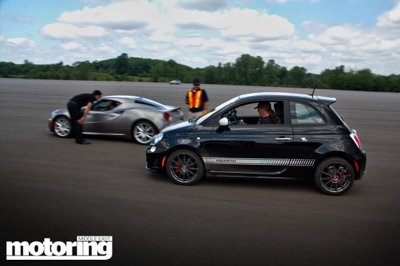 2015 cars driven at Chrysler's proving ground