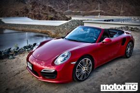 2014 Porsche 911 Turbo Cabriolet in UAE
