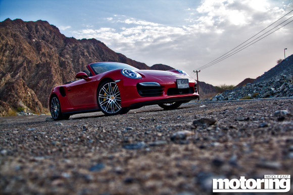 2014 Porsche 911 Turbo Cabriolet in UAE