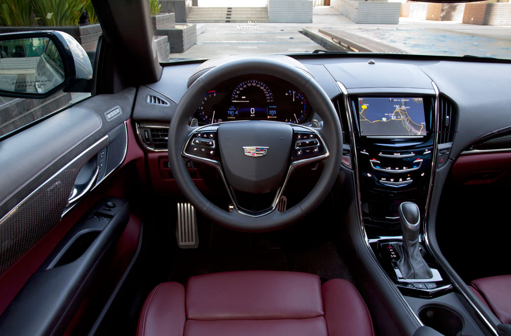 Cadillac Ats Coupe >> 2014 Cadillac ATS Coupe ReviewMotoring Middle East: Car ...