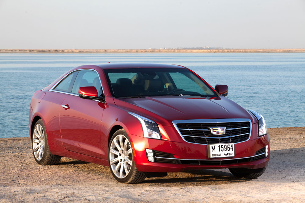 2014 cadillac ats coupe reviewmotoring middle east car news reviews and buying guides. Black Bedroom Furniture Sets. Home Design Ideas