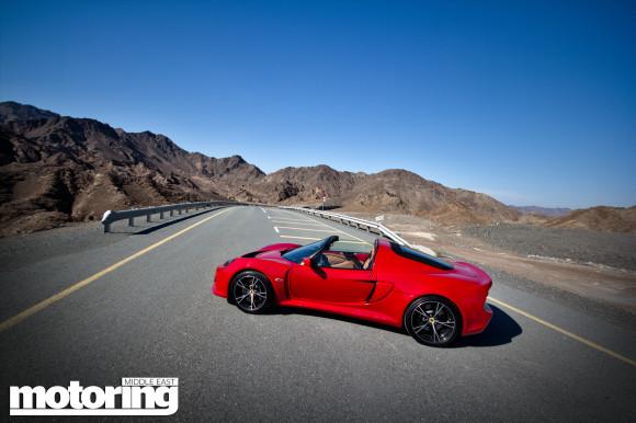 Lotus Exige S Roadster GCC Spec review