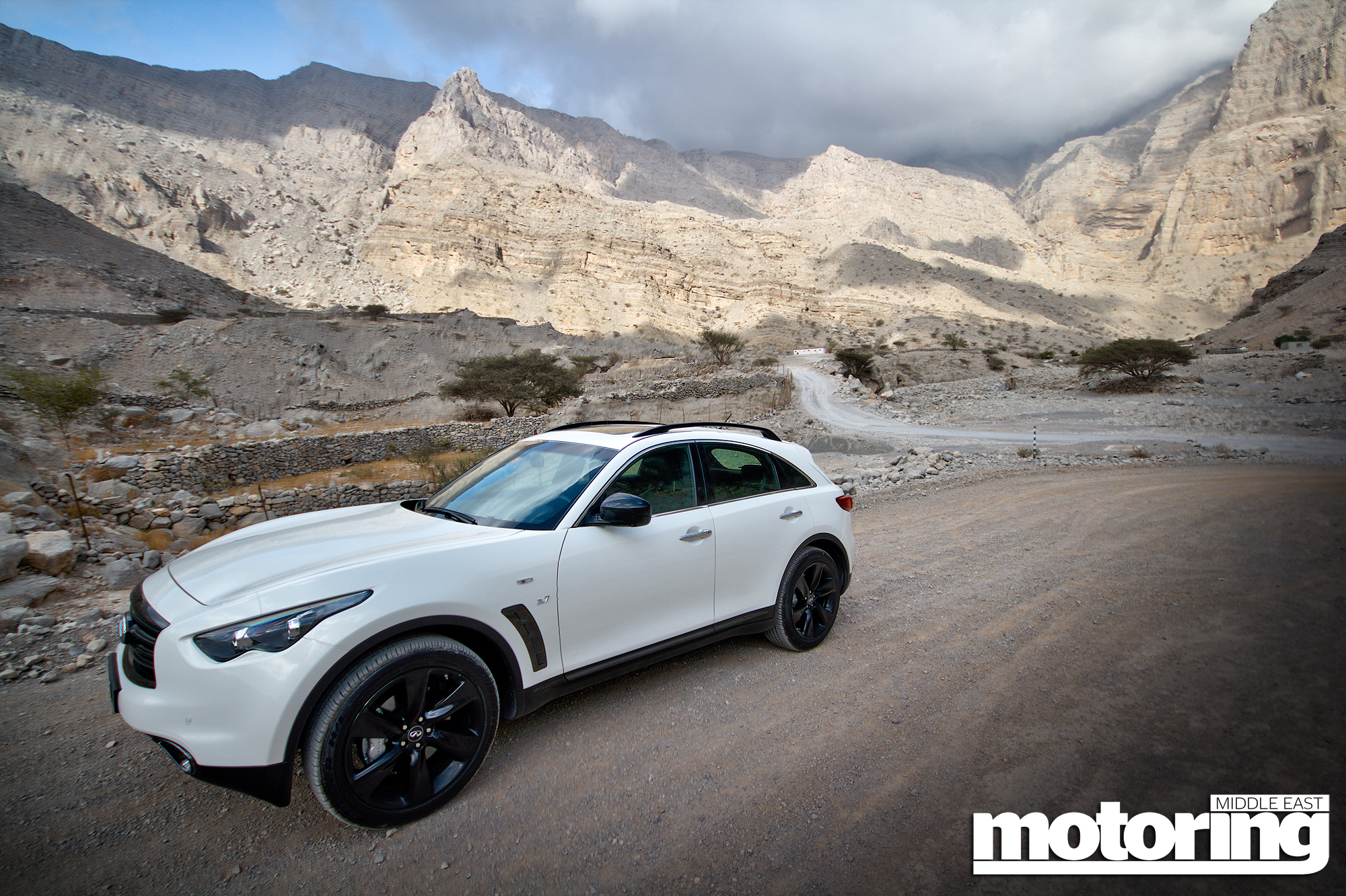 What If Two Roads Are Illusion What If >> 2015 Infiniti QX70 S ReviewMotoring Middle East: Car news, Reviews and Buying guides
