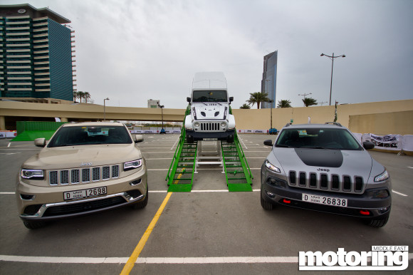 Jeep Roadshow at Dubai Festival City