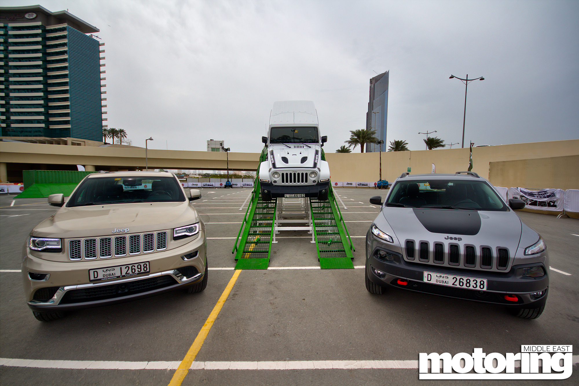 jeep roadshow at dubai festival citymotoring middle east: car news