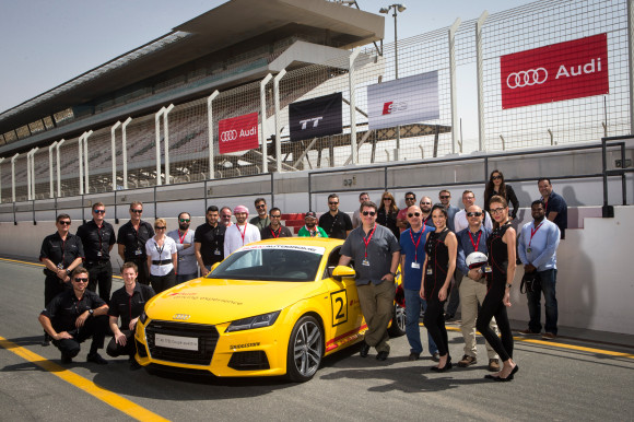 2015 Audi TT and S3 first drive in Dubai
