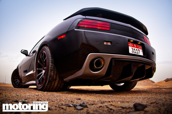 Jinn-busting in a Firebreather Chasing down spooky spirits in the UAE, at the wheel of the Pontiac Firebird-inspired Firebreather