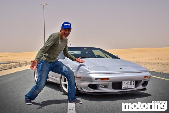 Classic Lotus Esprit V8 in Dubai video review