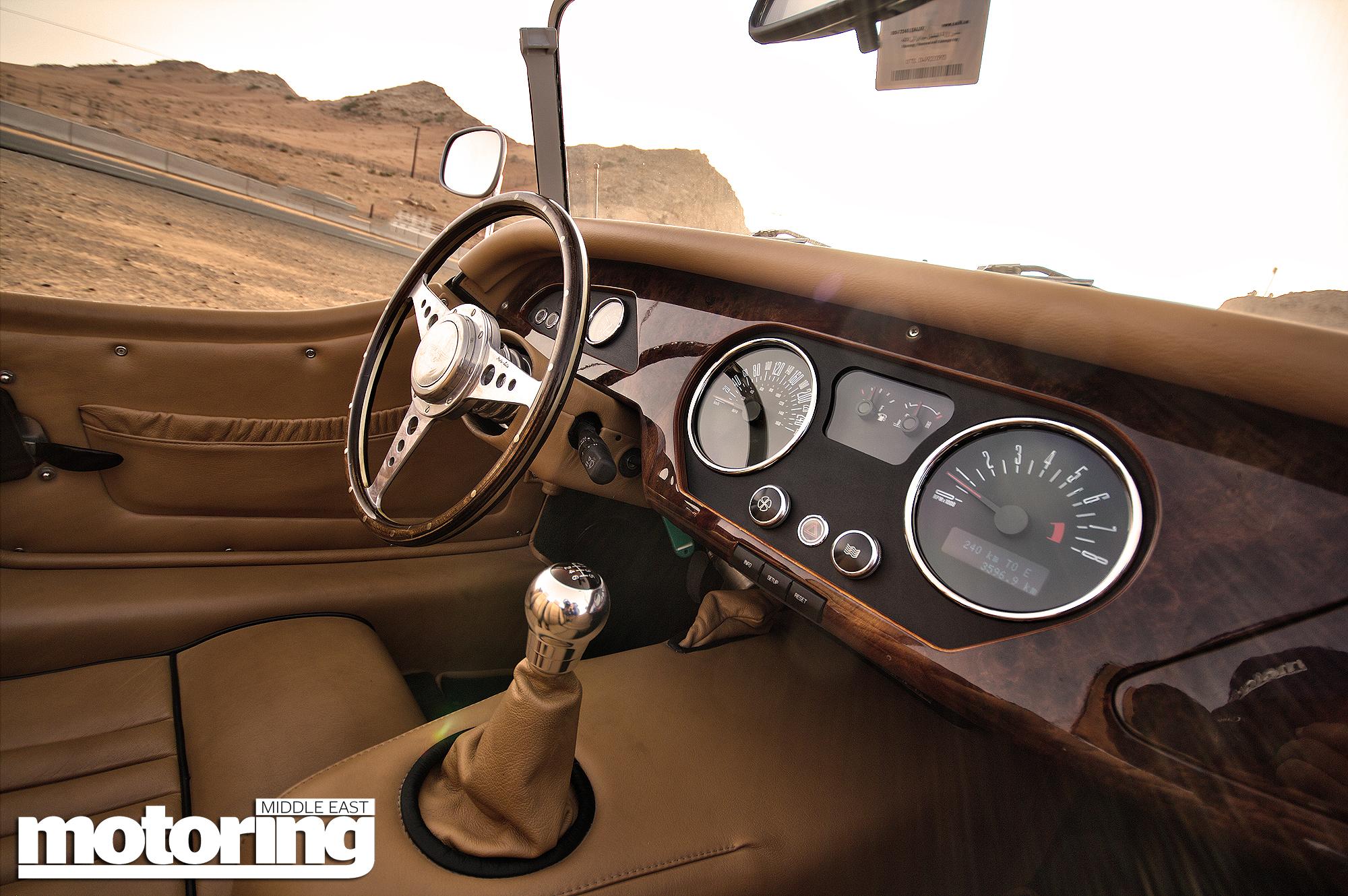 Morgan Roadster with Mustang power – video reviewMotoring