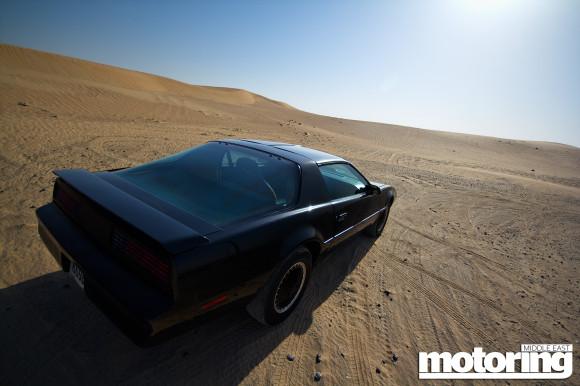 KITT from Knight Rider in Dubai - we drive it