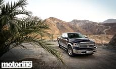 Dodge Ram Truck Road trip: Madha, Oman (inside UAE)