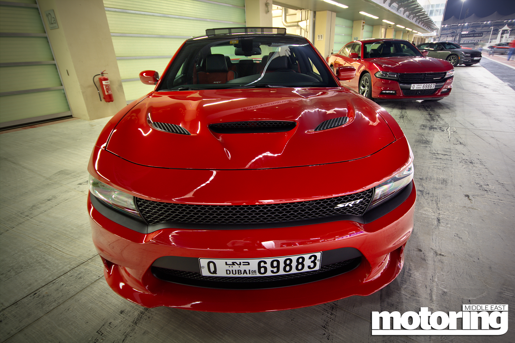 2015 Dodge Challenger Charger Hellcat Driven At Yas