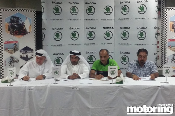Rallycross Arrives in the UAE