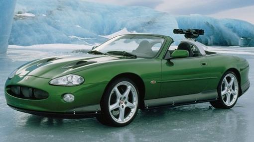 Halloween cars Bond villain Jaguar XKR