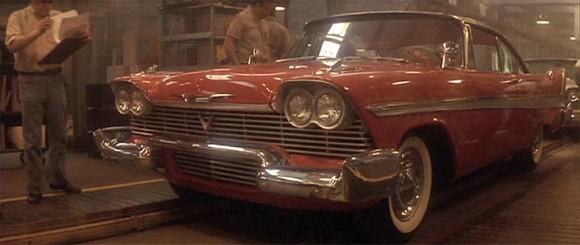 Halloween cars Christine Plymouth Fury