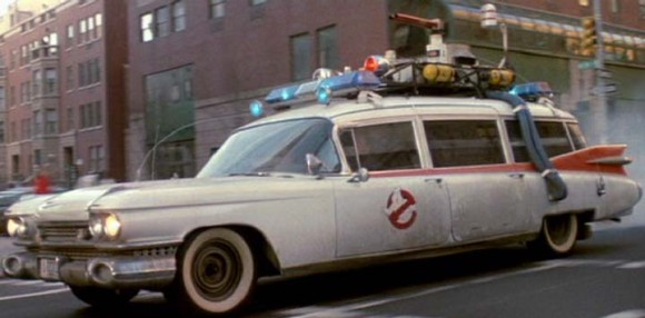 Halloween cars Ecto 1 Ghostbusters