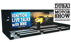 Dubai Motor Show Ignition Live Talks with MME