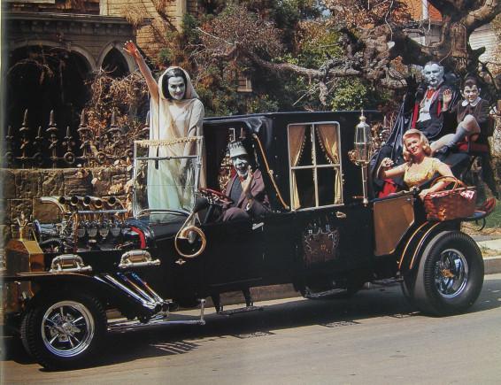 Halloween cars Munsters Koach