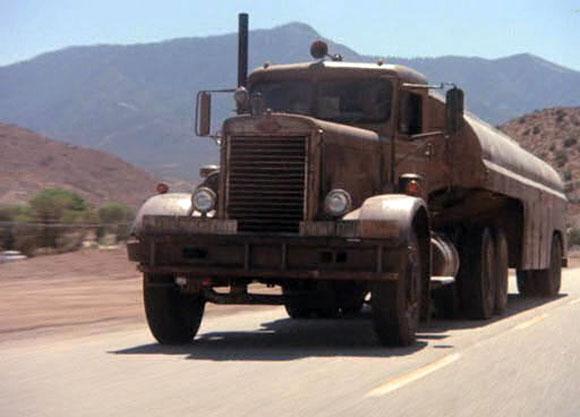 Halloween cars Truck from Duel Peterbilt