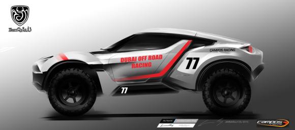 UAE-built Zarooq Sand Racer
