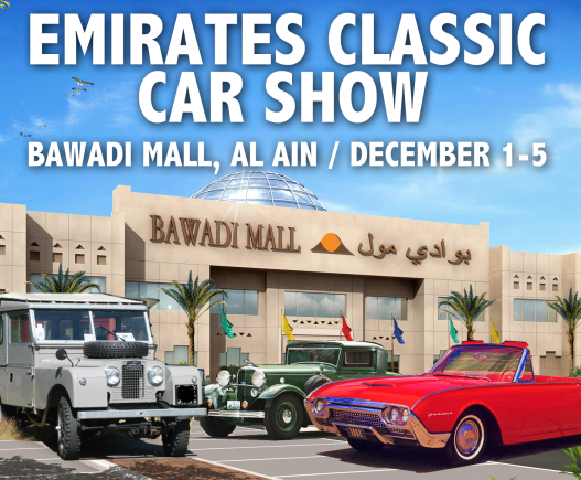 Bawadi Mall Emirates Classic Car show