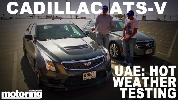 Cadillac ATS-V Hot Weather Testing