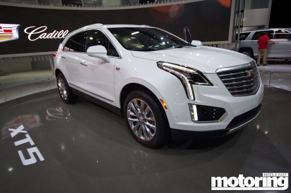 Cadillac XT5 DMS