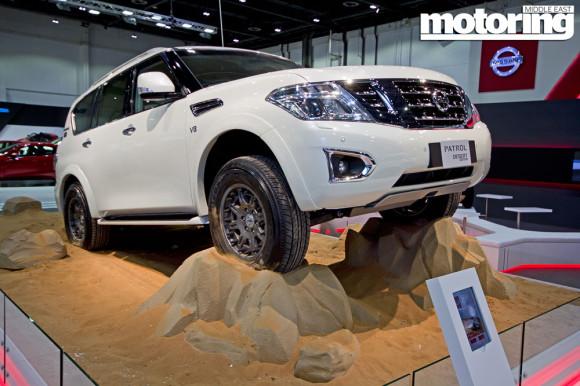 Nissan Patrol Dubai Motor Show