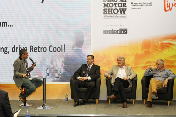 Motoring Middle East Ignition Live Talks at 2015 Dubai Motor Show