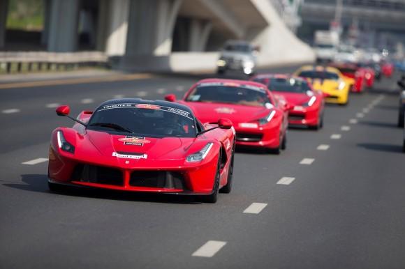 Ferrari Car Park Gathering