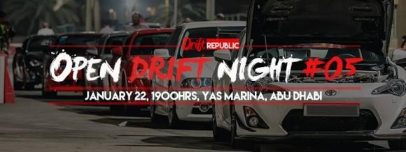 Drift Night Yas