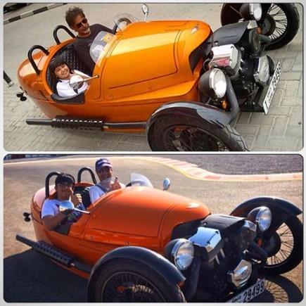 Morgan Three-wheeler kids