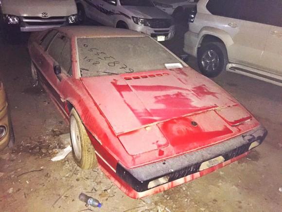 Old Lotus Esprit