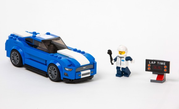 Lego Mustang & Raptor