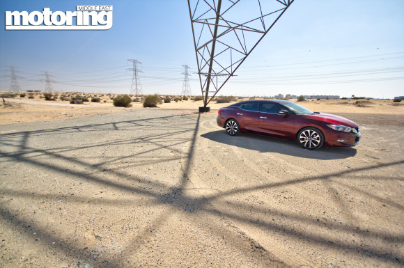 2016 Nissan Maxima video review