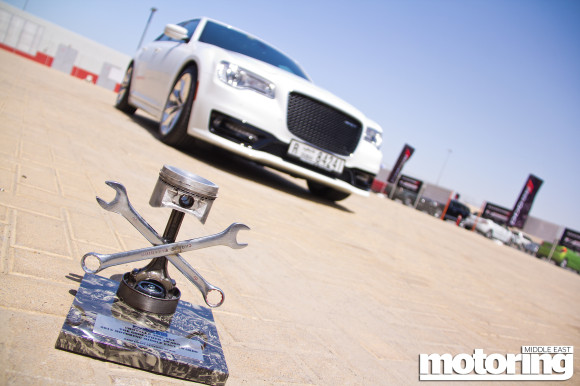 2015 Chrysler 300C SRT wins 'The Godfather Award' in Motoring Middle East Car of the Year Awards