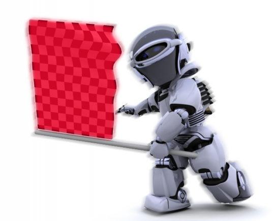 robot-waving-racing-flag_1048-3568