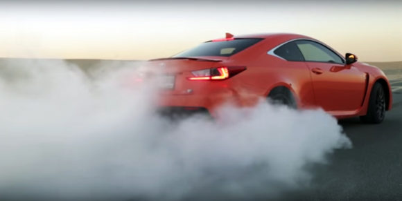 Lexus burnout