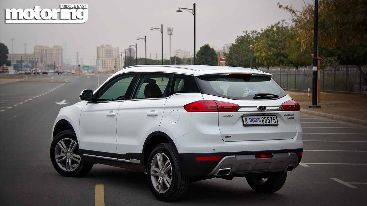 Geely Emgrand X7 Sportmotoring Middle East Car News Reviews And