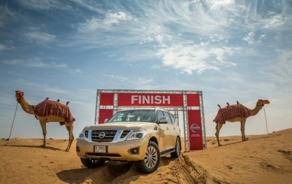 Nissan Camel Desert Power